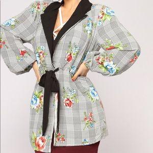 Fashion Nova Tops - Fashion Nova - Garden Variety Kimono